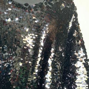 Joie Tops - Joie Aldwyn Midnight Blue Sequins Sweatshirt - XL